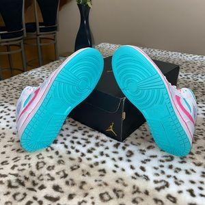 "Jordan Shoes - Air Jordan 1 Mid ""Digital Pink"" size 7.5"
